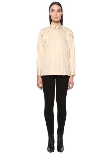 NetWork NetWork 1076021 Polo Yaka Kadın Gömlek Taş